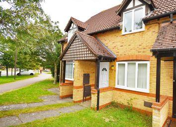 Thumbnail 2 bed terraced house for sale in Calverleigh Crescent, Furzton, Milton Keynes