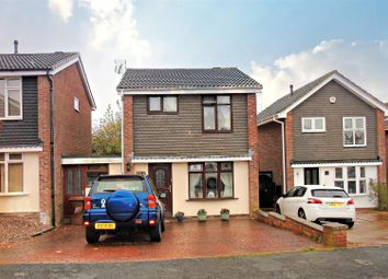 Thumbnail 3 bed link-detached house for sale in Fairfield Close, Heath Hayes, Cannock