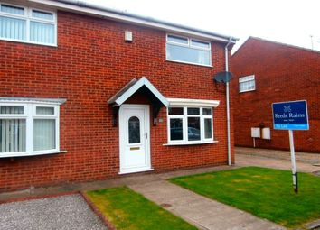 Thumbnail 2 bed terraced house to rent in Byland Court, Hull