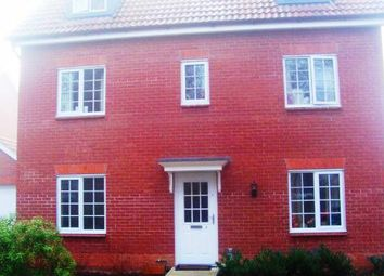 Thumbnail 5 bed town house to rent in Benet Close, Thetford