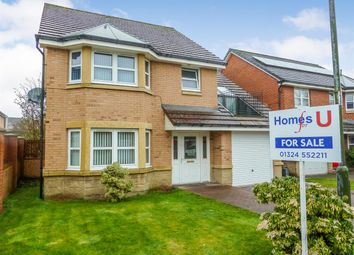 Thumbnail 4 bed detached house for sale in Steel Crescent, Denny