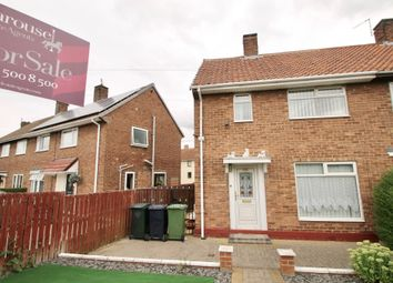 Thumbnail 2 bed semi-detached house for sale in Moorfoot Gardens, Lobley Hill, Gateshead, Tyne & Wear