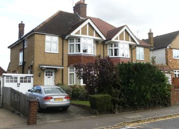 Thumbnail 3 bedroom property to rent in Cassiobury Park Avenue, Watford