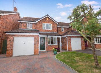Thumbnail 3 bed detached house for sale in Lawnlea Close, Derby