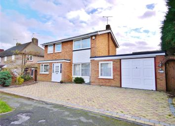 Thumbnail 4 bed detached house for sale in Marlborough Road, Pilgrims Hatch, Brentwood, Essex
