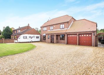 Thumbnail 4 bed detached house for sale in Church Bank, Terrington St. Clement, King's Lynn