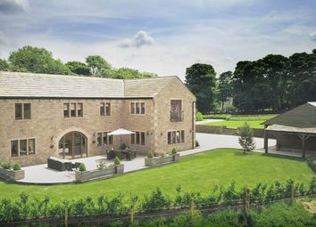 Thumbnail 6 bed property for sale in Park View Barn, Gosport Lane, Sowood, Halifax