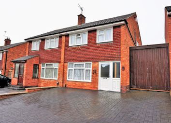 Thumbnail 4 bed semi-detached house for sale in Rushton Drive, Leicester