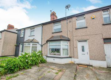 Thumbnail 3 bedroom terraced house for sale in Tweedsmuir Road, Splott, Cardiff