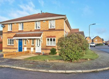 Thumbnail 3 bedroom semi-detached house for sale in Sundew Close, Bedford