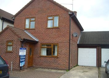 Thumbnail 3 bed detached house to rent in Robin Close, Mildenhall, Bury St. Edmunds