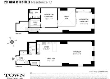 Thumbnail 2 bed property for sale in 251 West 19th Street, New York, New York State, United States Of America