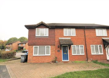 Thumbnail 3 bed semi-detached house for sale in Quincy Road, Egham, Surrey