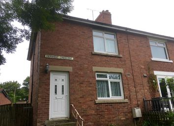 Thumbnail 2 bedroom semi-detached house for sale in Derwent Crescent, Hamsterley Colliery, Newcastle Upon Tyne