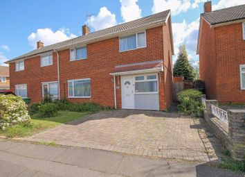 Thumbnail 4 bed semi-detached house for sale in Linford Drive, Basildon