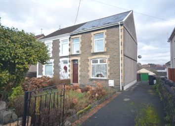 Thumbnail 3 bed semi-detached house for sale in Pen Yr Heol, Skewen, Neath
