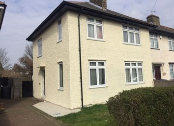 Thumbnail 4 bed semi-detached house to rent in Stevens Road, Dagenham