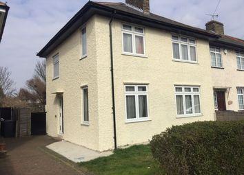 Thumbnail 4 bed semi-detached house to rent in Stevens Road, Dagenham