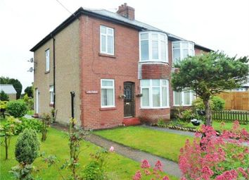 Thumbnail 2 bed flat for sale in Main Street, Red Row, Morpeth, Northumberland