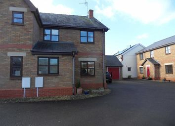 Thumbnail 3 bed semi-detached house for sale in Blackbarn Mews, Usk, Monmouthshire
