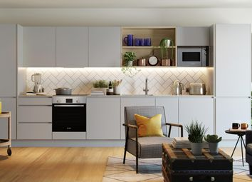 Thumbnail 1 bed flat for sale in Apartment 106 Johanna Court, Oxbow, 1 New Village Avenue, London