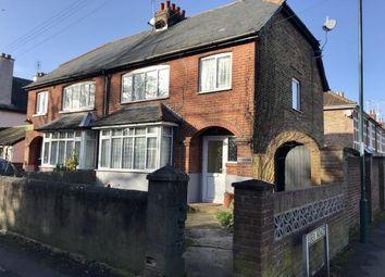 Thumbnail 3 bed semi-detached house for sale in Town Cross Avenue, Bognor Regis, West Sussex