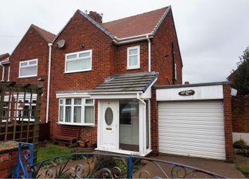Thumbnail 2 bedroom semi-detached house for sale in Rosemount, Sunderland