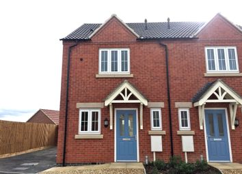 Thumbnail 2 bed semi-detached house for sale in Jacobite Close, Smalley, Ilkeston