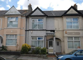 Thumbnail 2 bed terraced house for sale in Glendower Road, Peverell, Plymouth