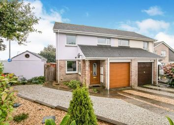 Thumbnail 3 bed semi-detached house for sale in Launceston Road, Bodmin, Cornwall
