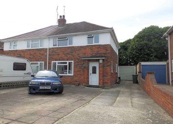 Thumbnail 3 bedroom semi-detached house for sale in Masefield Avenue, Swindon