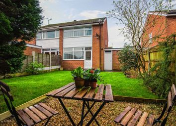 Thumbnail 3 bed semi-detached house for sale in Yarrow Close, Croston, Leyland