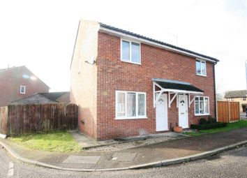 Thumbnail 3 bed semi-detached house to rent in Norman Close, Fakenham