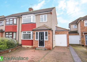 Thumbnail 3 bed semi-detached house for sale in Trafalgar Avenue, Broxbourne