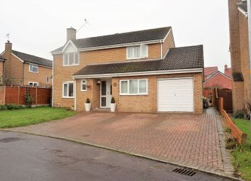 Thumbnail 4 bed detached house for sale in Clinton Close, Swindon