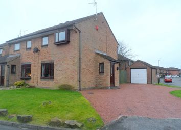 Thumbnail 3 bedroom semi-detached house for sale in Sywell Close, Swanwick, Alfreton