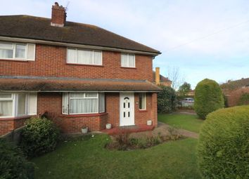 Thumbnail 3 bed semi-detached house for sale in Bishops Way, Egham