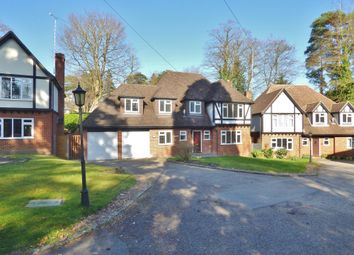 Thumbnail 5 bed detached house to rent in Crawley Wood Close, Camberley