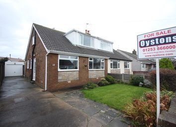 Thumbnail 3 bed semi-detached bungalow for sale in Redcar Avenue, Thornton-Cleveleys