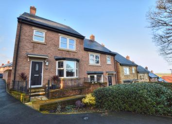 Thumbnail 3 bedroom semi-detached house for sale in Willoughby Park, Alnwick, Northumberland