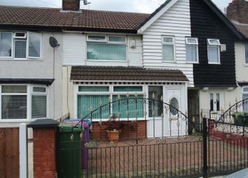 Thumbnail 3 bed terraced house for sale in Ancroft Road, Dovecot, Liverpool