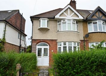 Thumbnail 3 bed semi-detached house for sale in Lyncroft Gardens, Hounslow, Middlesex