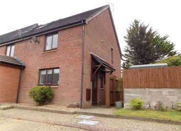 Thumbnail 3 bed end terrace house for sale in Caer Newydd, Brackla, Bridgend.