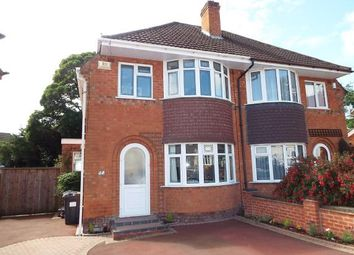 Thumbnail 3 bed semi-detached house for sale in Loxley Avenue, Birmingham, West Midlands