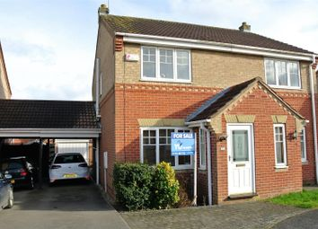 Thumbnail 2 bed semi-detached house for sale in Leadley Croft, Copmanthorpe, York