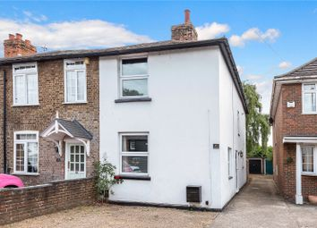 Thumbnail 3 bed semi-detached house for sale in Bridge Road, Chertsey, Surrey