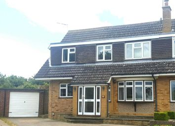 Thumbnail 4 bed semi-detached house for sale in Carlton Close, Newport Pagnell
