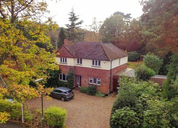Thumbnail 4 bedroom detached house for sale in Norfolk Farm Road, Pyrford