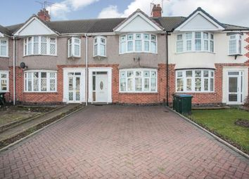 Thumbnail 3 bedroom terraced house for sale in Keresley Road, Keresley, Coventry, West Midlands
