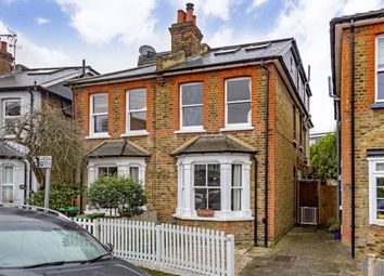 Thumbnail 4 bed semi-detached house for sale in Rowlls Road, Norbiton, Kingston Upon Thames